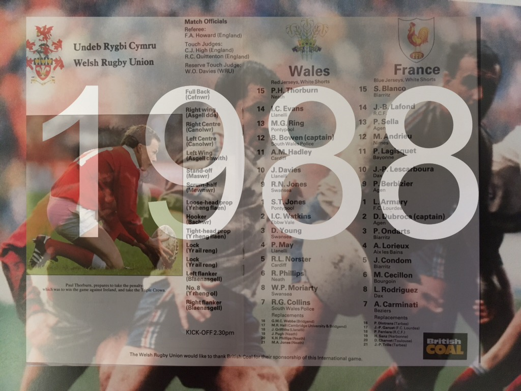 Wales v France In Years Ending With An 8 | The Sportsdragon